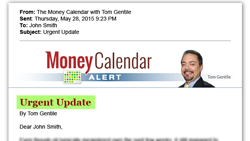 Tom Gentile The Money Calendar