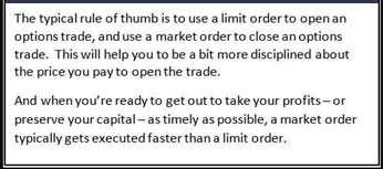 These Are the Best Four Orders You Can Use When Trading Options